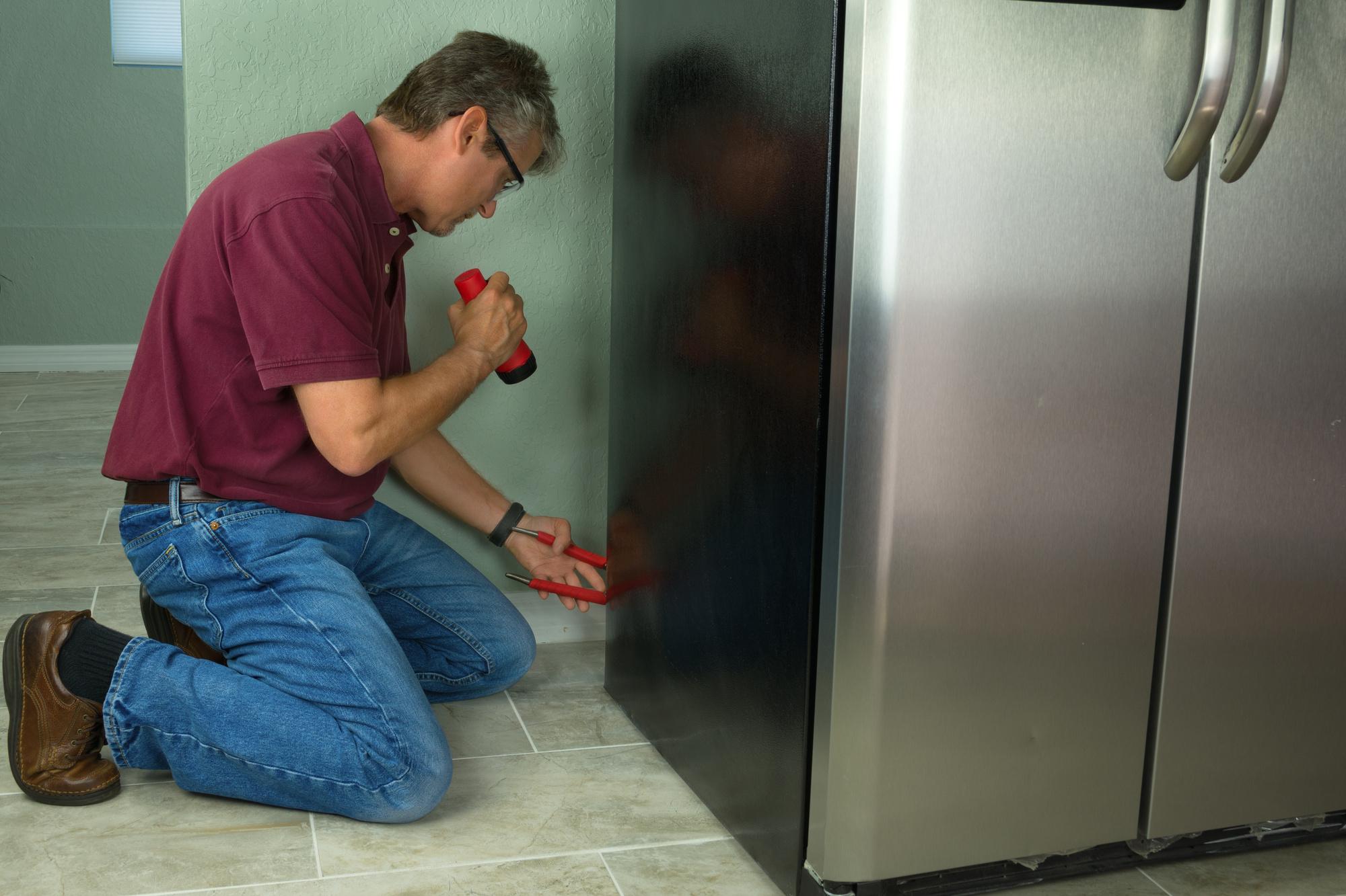 repair or replace a refrigerator